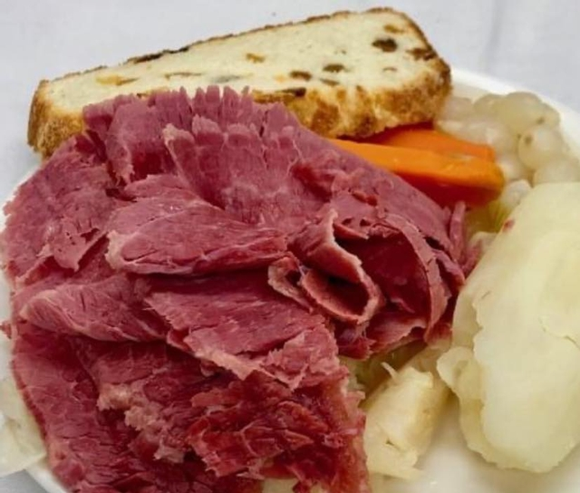 Corned Beef & Cabbage Thursdays!